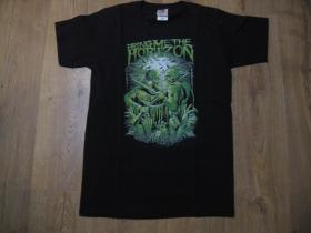 Bring me The Horizon čierne pánske tričko materiál 100% bavlna