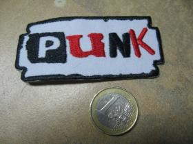 Punk nažehľovacia nášivka vyšívaná (možnosť nažehliť alebo našiť na odev)