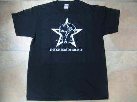 The Sisters of Mercy čierne pánske tričko 100% bavlna