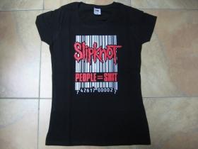 Slipknot People - Shit  čierne dámske tričko 100%bavlna