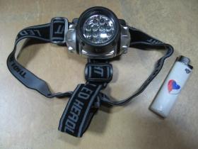 """čelová lampa """" čelovka """" na dve malé tužkové batérie"""