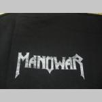Manowar čierne  pánske tričko 100 %bavlna