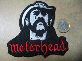 Motorhead - Lemmy nažehľovacia nášivka vyšívaná (možnosť nažehliť alebo našiť na odev)