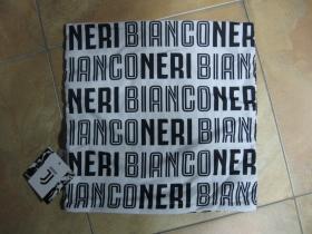 Juventus Torino - Neri Bianco obliečka na vankúš rozmery 40x40cm  materiál: 100%bavlna