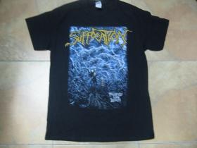 Suffocation čierne pánske tričko 100%bavlna