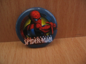 Spiderman odznak priemer 25mm