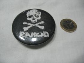 Rancid  odznak veľký,  priemer 55mm