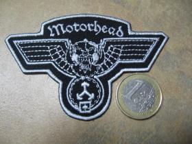 Motorhead nažehľovacia nášivka vyšívaná (možnosť nažehliť alebo našiť na odev)