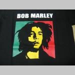 Bob Marley  čierne pánske tričko  100%bavlna
