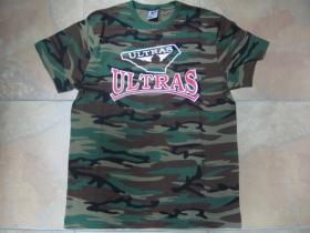 Ultras maskáčové pánske tričko 100%bavlna