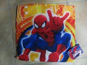 Spiderman obliečka na vankúš rozmery 40x40cm materiál: 100%bavlna