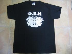 G.B.H. čierne pánske tričko 100%bavlna