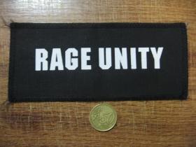 Rage Unity potlačená nášivka (po krajoch obšívaná)  posledný kus