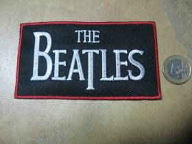The Beatles nažehľovacia nášivka vyšívaná (možnosť nažehliť alebo našiť na odev)