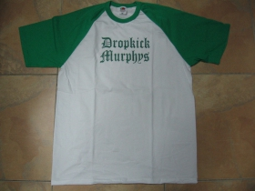 Dropkick Murphys bielozelené pánske tričko 100%bavlna