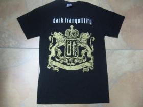 Dark Tranquillity čierne pánske tričko 100%bavlna