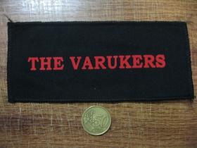 The Varukers potlačená nášivka (po krajoch obšívaná)  posledný kus