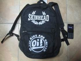 Skinhead Oi! If The Kids are United, jednoduchý ľahký ruksak, rozmery pri plnom obsahu cca: 40x27x10cm materiál 100%polyester
