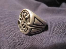 Pentagram, Prsteň zliatinový, požadovaný priemer, alebo vnútorný obvod v milimetroch napíšte na konci objednávky do rubriky KOMENTÁR)