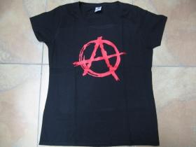 Anarchy áčko v krúžku dámske tričko 100%bavlna značka Fruit of The Loom