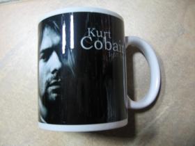 Nirvana Kurt Cobain porcelánový pohár - šálka s uškom, objemom cca. 0,33L