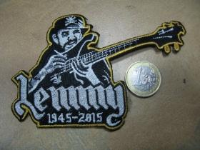 Lemmy - Motorhead nažehľovacia nášivka vyšívaná (možnosť nažehliť alebo našiť na odev)