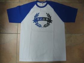 A.C.A.B. pánske modrobiele tričko s čiernym logom 100%bavlna značka Fruit of The Loom (viacero motívov na výber)