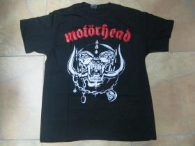 Motorhead čierne pánske tričko 100%bavlna