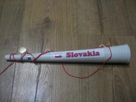 Slovakia Team - trubka na fandenie so šnúrkou na krk