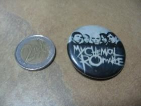 My Chemical Romance odznak veľký, priemer 55mm