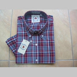 RELCO pánska košeľa károvaná 100%bavlna