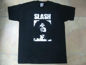 Slash čierne pánske tričko 100%bavlna