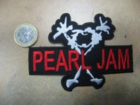 Pearl Jam nažehľovacia nášivka vyšívaná (možnosť nažehliť alebo našiť na odev)