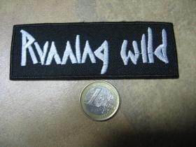 Runninh Wild nažehľovacia nášivka vyšívaná (možnosť nažehliť alebo našiť na odev)