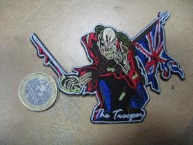 Iron Maiden nažehľovacia nášivka vyšívaná (možnosť nažehliť alebo našiť na odev)