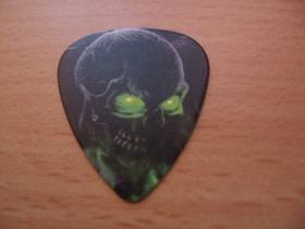 Lebka SKULL  plastové brnkátko na gitaru hrúbka 0,77mm