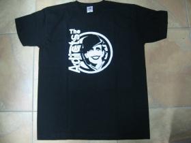 Adicts, čierne pánske tričko 100% bavlna