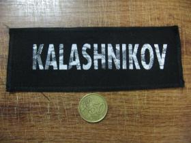 Kalashnikov potlačená nášivka (po krajoch obšívaná)  posledný kus