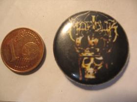Marduk plechový klasický odznak s priemerom 25mm