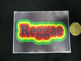 Reggae nálepka 10x7cm