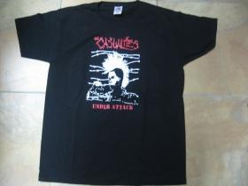 Casualties Under Attack čierne pánske tričko 100%bavlna