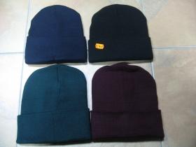 zimná čiapka typ commando rôzne farby univerzálna veľkosť 100% akryl
