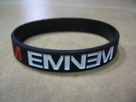 Eminem  pružný silikónový náramok s vyrazeným motívom