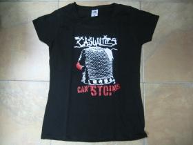 Casualties čierne dámske tričko 100%bavlna