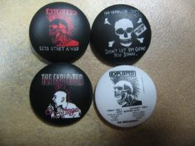 Exploited odznak priemer 25mm (viacero motívov na výber)