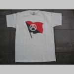 Anarchy vlajka pánske tričko 100%bavlna značka Fruit of The Loom
