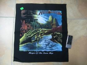 Helloween chrbtová nášivka obšívaná