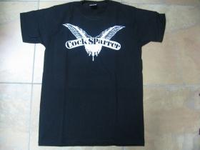 Cock Sparrer čierne pánske tričko 100%bavlna
