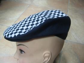 čiapka Rude Boy SKA čiernobiela 100% bavlna univerzálna veľkosť