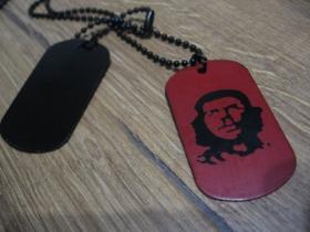 """Che Guevara kovový prívesok na krk """"Dog Tag"""" s dvomi známkami"""